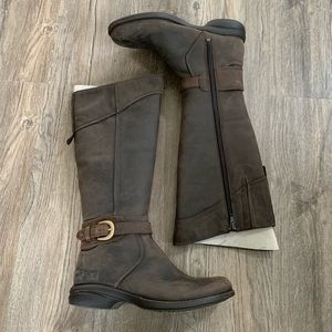 NEW Merrell Brown Leather Riding Boots sz 7.5